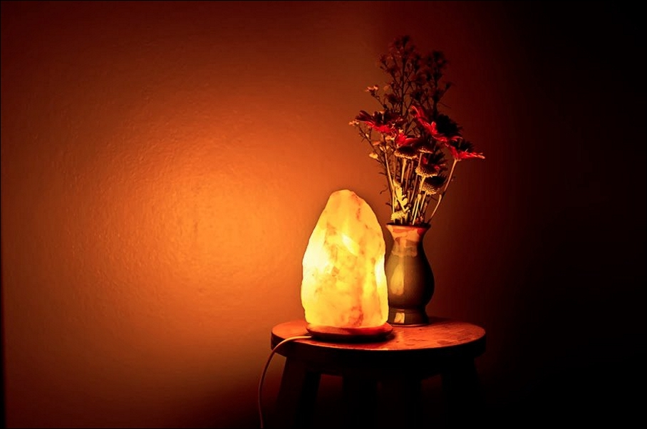 Salt Rock Lamp Real Or Fake : Khashar Trading Co.