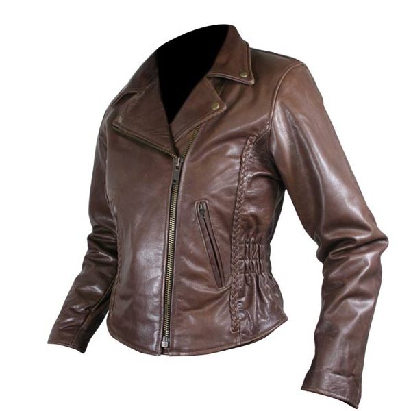 Ladies Leather Jacket - KTC-LLJ-01