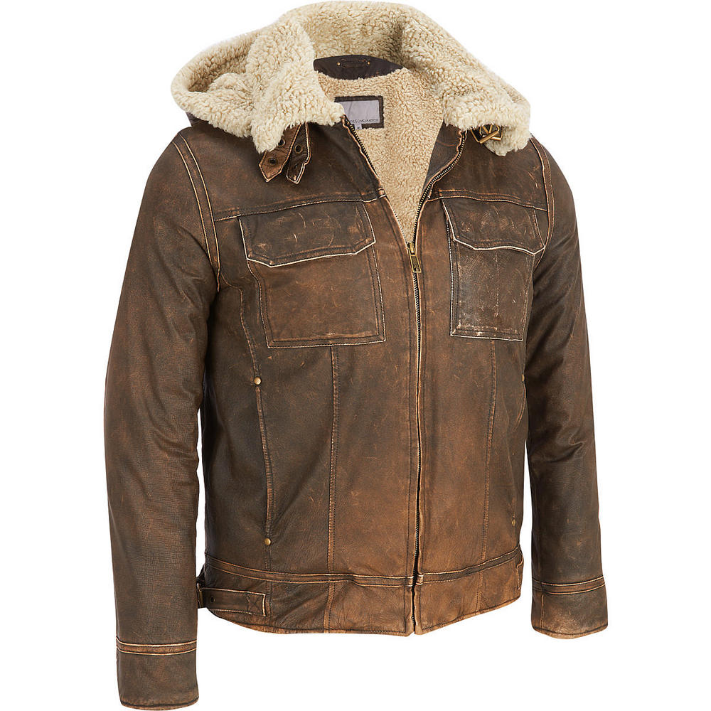 Mens Leather Jacket (KTC-MLJ-01)